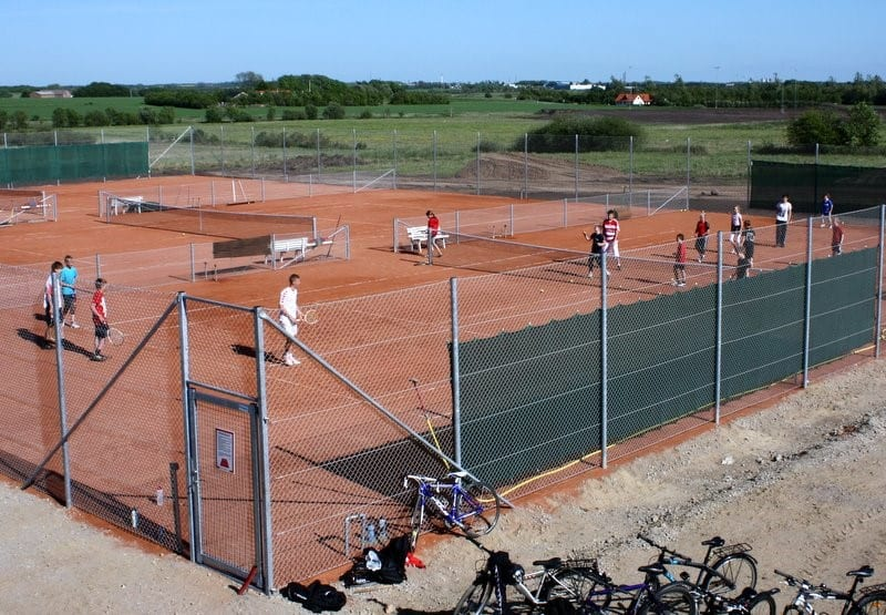 Tennisbanerne